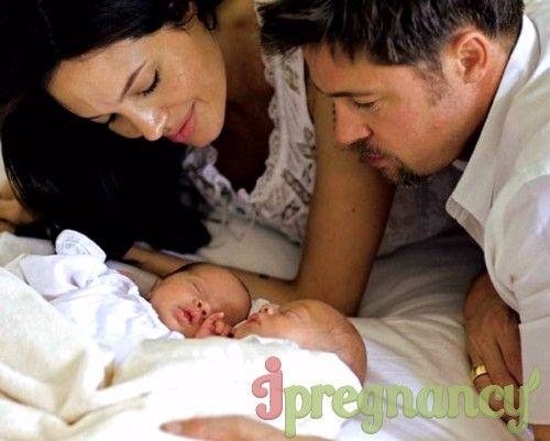 La Angelina Jolie cu Brad Pitt, acesta va fi al 7-lea copil