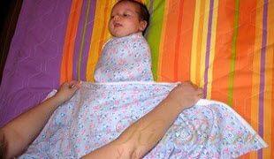 Как правильно пеленать новорожденного?