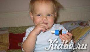 Как правильно выбрать капли в нос для детей