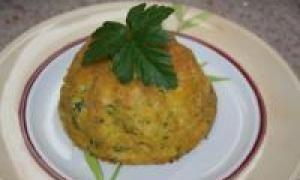 капустная запеканка с яйцом (от 3 до 7 лет)