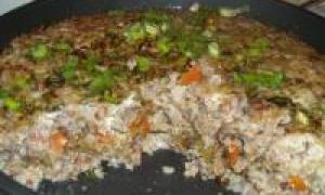 картофельная запеканка с печенью (от 3 до 7 лет)