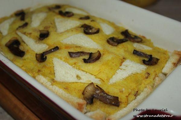 Картофельная запеканка - рецепт с фото.