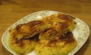 картофельные зразы с капустой (от 1.5 года до 3 лет)