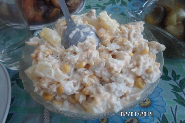 курица с ананасом - рецепт с фото.