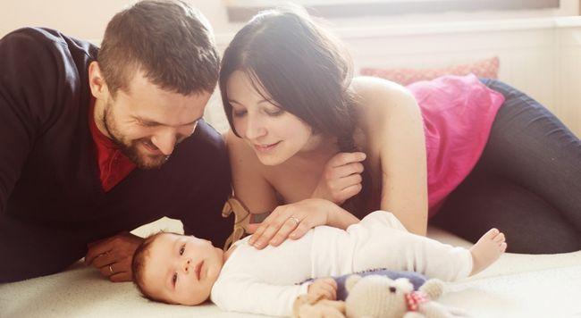 В случай, че жената трябва да се даде на съпруга си дете?