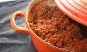 мясная запеканка с макаронами (от 3 до 7 лет)