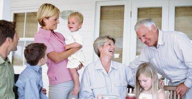 семейните отношения и деца