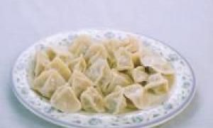 вареники с печенью (от 3 до 7 лет)