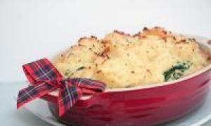 запеканка из картофеля и капусты (от 3 до 7 лет)