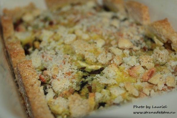 Запеканка из морской капусты - рецепт с фото.